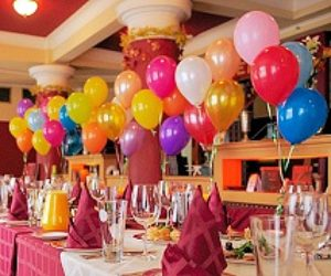 Balloon Decorations Done for a Special Occassion prepared by Event Management Company named Kiyoh