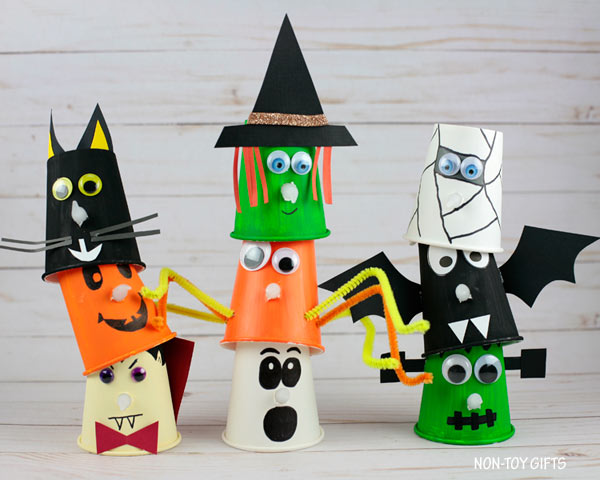 Paper Crafts For Halloween Party Celebrations.