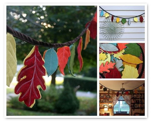 Leaves Crafts For Representing Nature And Scenaries.