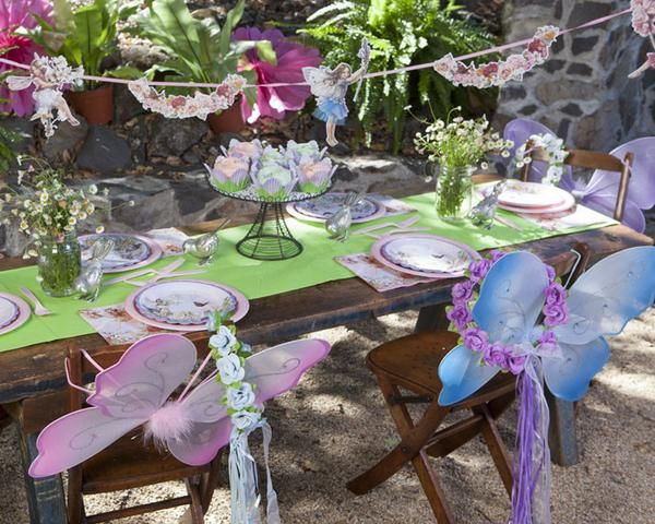 Butterfly Themed Party Decorations For Birthday.